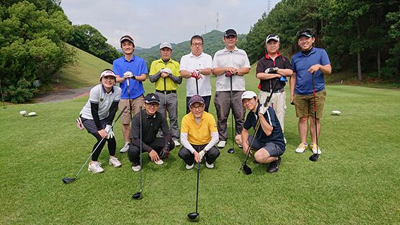 清流会ゴルフコンペ開催しました!