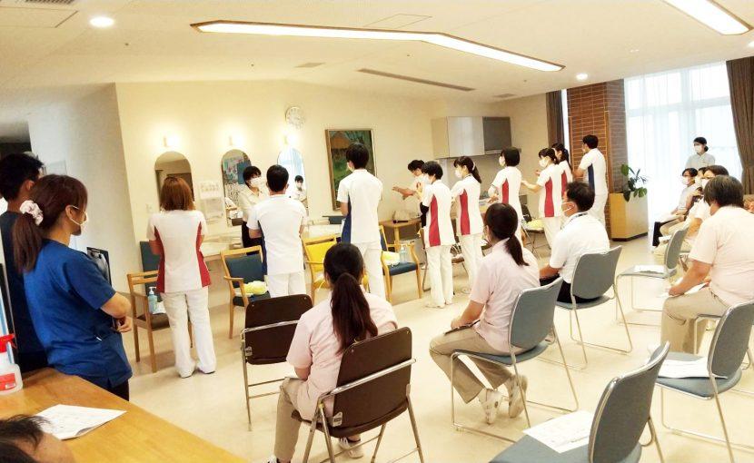 院内感染対策の勉強会を開催