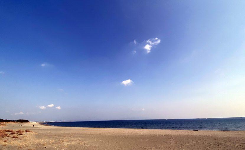 小松海岸へドライブ